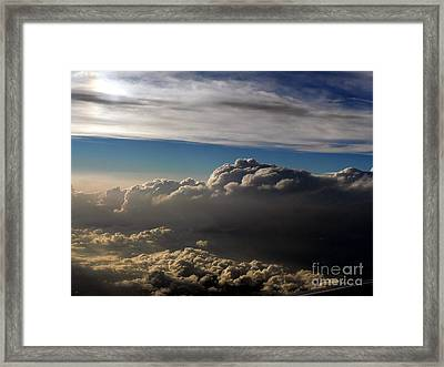 Cloud Series 4 Framed Print