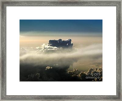 Cloud Series 5 Framed Print