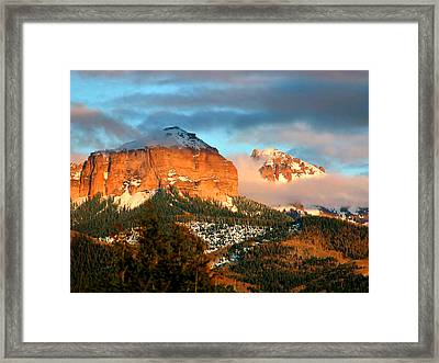 Cloud Shroud Framed Print