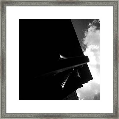 Clouds And Charms Framed Print