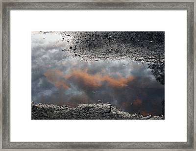 Clouds Are Closer Framed Print by Devon Stewart