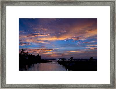 Clouds Full Of Beauty Framed Print by Diane Carlisle