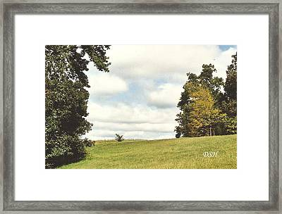 Clouds In The Morning Framed Print
