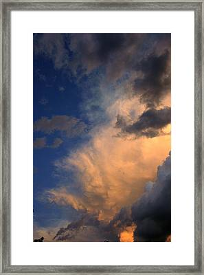 Clouds In The Spring Sky Framed Print