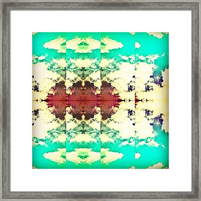 Clouds Framed Print by Katie Williams