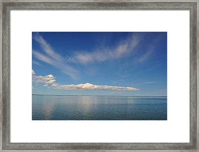 Clouds Of Prince Edward Framed Print by Jeff Moose