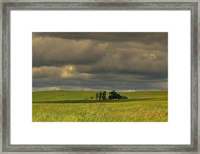Framed Print featuring the photograph Clouds by Rima Biswas