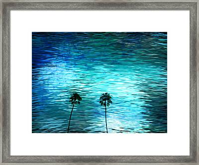 Cloudy Day... Framed Print