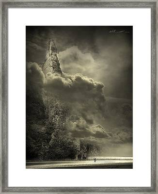 Cloudy Day Framed Print by Svetlana Sewell