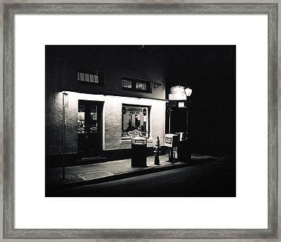 Clover Grill New Orleans Framed Print
