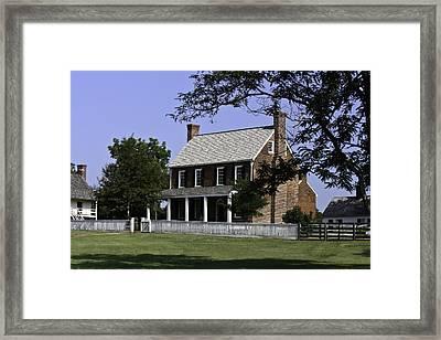 Clover Hill Tavern Appomattox Virginia Framed Print by Teresa Mucha