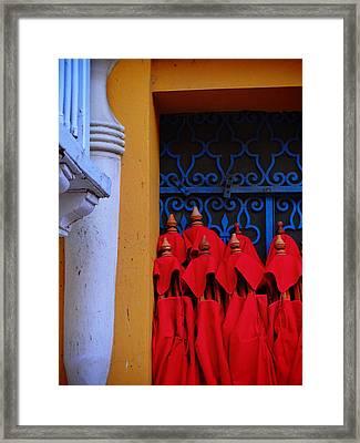 Club Colombia Framed Print by Skip Hunt
