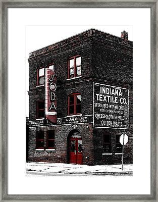 Club Soda Framed Print by Sean Holmquist