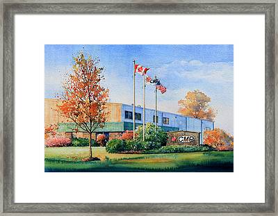 Cmp Plant Framed Print by Hanne Lore Koehler