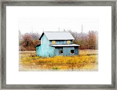 Co-ed Building - No. 162 Framed Print