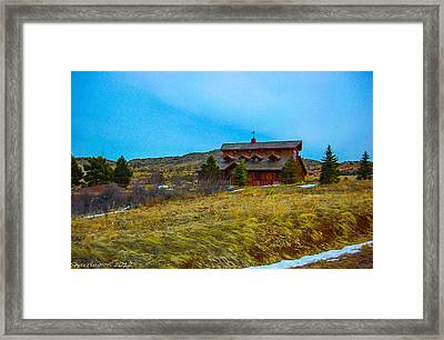 Framed Print featuring the photograph Co. Farm by Shannon Harrington