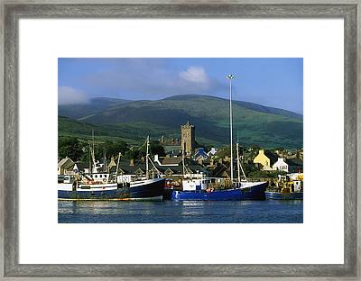 Co Kerry, Dingle Harbour Framed Print by The Irish Image Collection