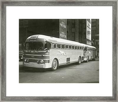 Coach Framed Print by George Marks