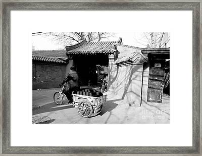 Coal Delivery Framed Print