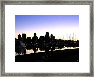 Coal Harbour Framed Print by Will Borden