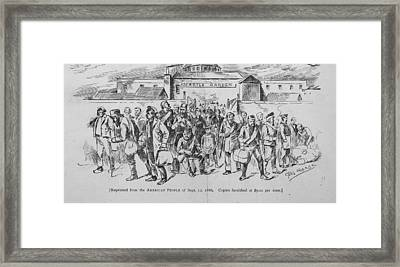 Coal Miners, Pittsburgh Pa. 1888 Framed Print by Everett