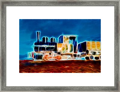 Coal Train Framed Print