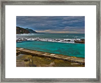 Coalcliff Ocean Pool Framed Print