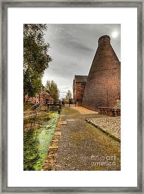 Coalport Kiln Framed Print