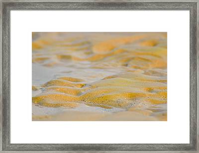 Coastal Abstract Framed Print