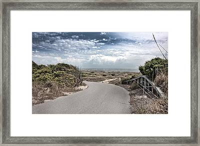 Coastal Bend Framed Print