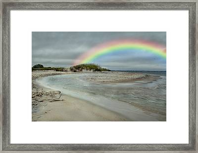 Coastal Color Framed Print