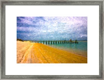 Coastal Dreamland Framed Print by Betsy Knapp