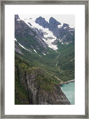 Coastal Flow Framed Print by Mike Reid