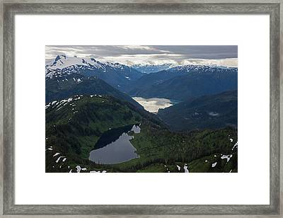 Coastal Range Tranquility Framed Print by Mike Reid