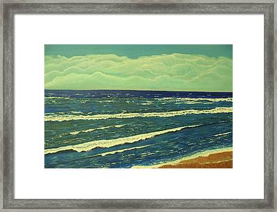 Coastal View Framed Print