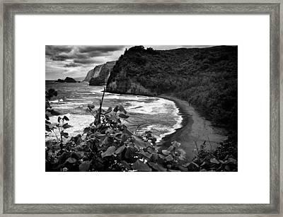 Coastline Framed Print by Karl Voss