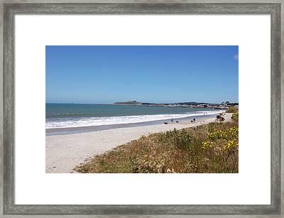 Coastside California Framed Print by Carolyn Donnell