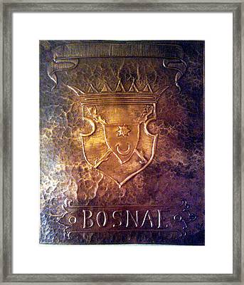 Coat Of Arms Bosnia  Framed Print