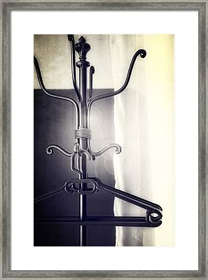 Coat Rack Framed Print by Joana Kruse