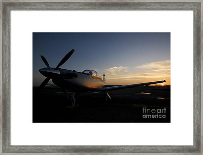 Cob Speicher, Iraq - An Iraqi Airforce Framed Print by Terry Moore