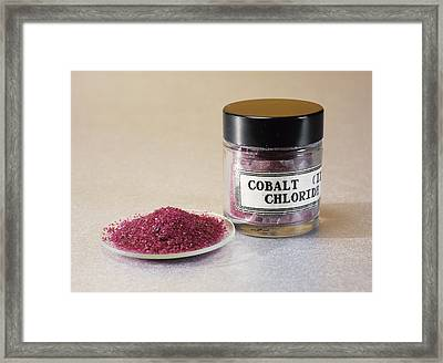 Cobalt Chloride Framed Print by Andrew Lambert Photography