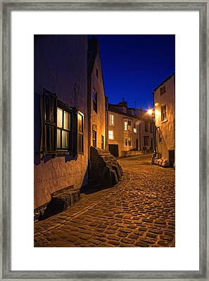 Cobblestone Road, North Yorkshire Framed Print by John Short