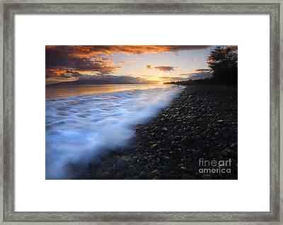Cobblestone Sunset Framed Print by Mike  Dawson