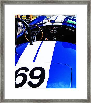 Framed Print featuring the photograph Cobra by Randall  Cogle