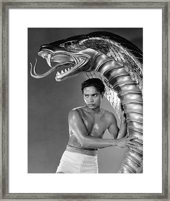 Cobra Woman, Sabu, 1944 Framed Print by Everett