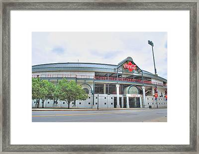 Framed Print featuring the photograph Coca Cola Field  by Michael Frank Jr