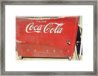 Coca Cola Framed Print by Trent Mallett