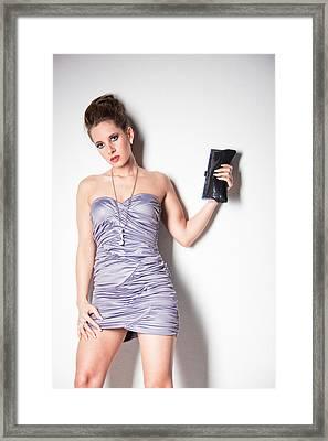 Cocktail Dress Framed Print