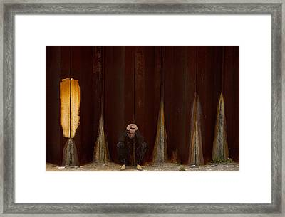 Coco Robicheaux Framed Print by Marie-Dominique Verdier
