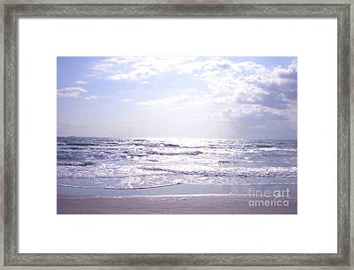 Cocoa Beach Afternoon Framed Print
